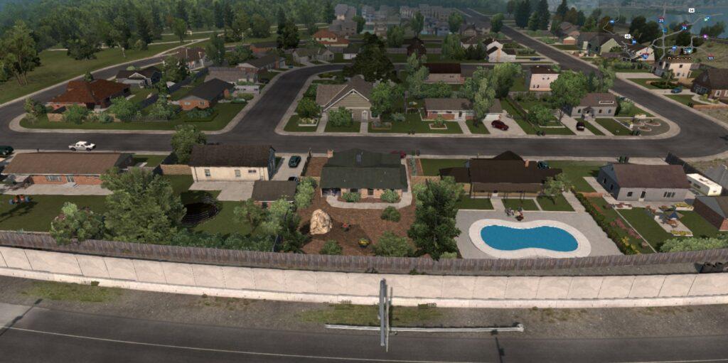 A more urban environment near Denver