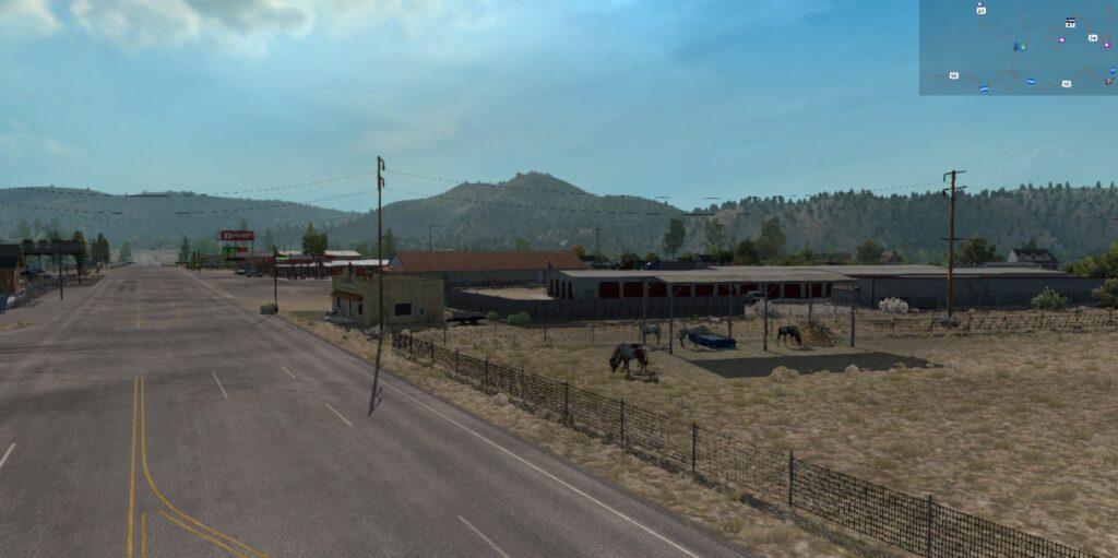 A rural settlement (johnson village)