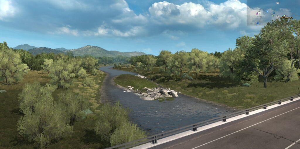 The Rio Grande near Monte Vista