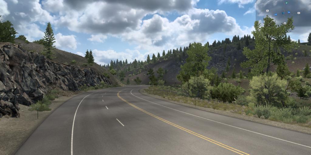 The mountainous pass near Poncha Springs